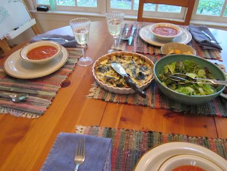 quiche_dinner